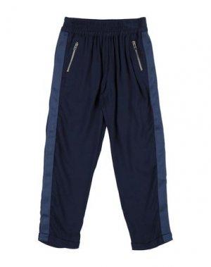 Повседневные брюки LILI GAUFRETTE. Цвет: темно-синий