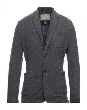 Пиджак NAPAPIJRI. Цвет: серый