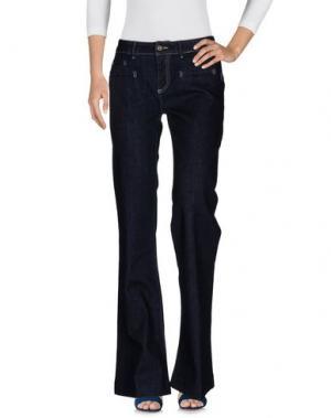 Джинсовые брюки ATOS LOMBARDINI. Цвет: синий