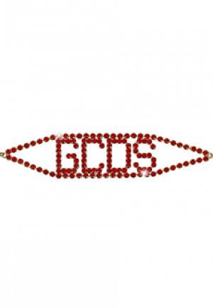 Чокер GCDS. Цвет: красный