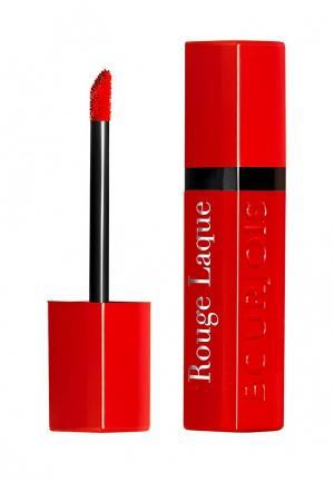Помада Bourjois Rouge Laque, 5 Red To Toes, 6 мл. Цвет: красный