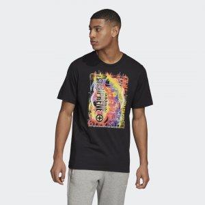 Футболка Adiprene Originals adidas. Цвет: черный