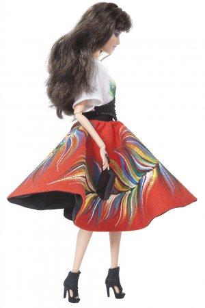 От Alexander Arutyunov Barbie. Цвет: multicolor