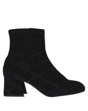 Полусапоги и высокие ботинки APEPAZZA. Цвет: черный