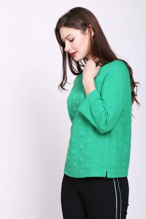 Пуловер Bianca. Цвет: зелёный