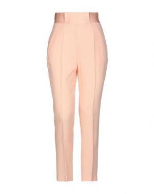Повседневные брюки SPACE SIMONA CORSELLINI. Цвет: розовый