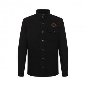 Джинсовая куртка Genuine Motorclothes Harley-Davidson. Цвет: чёрный
