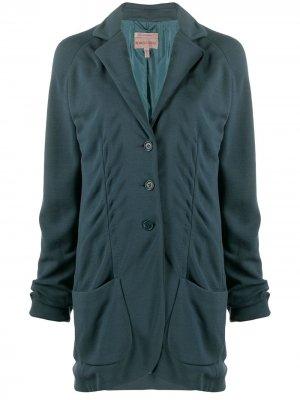 Куртка 1997-го года на пуговицах Romeo Gigli Pre-Owned. Цвет: зеленый