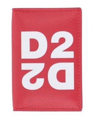 Чехол для документов DSQUARED2. Цвет: красный