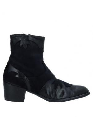 Полусапоги и высокие ботинки INK. Цвет: темно-синий