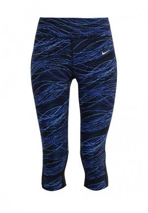 Капри Nike W NK PWR EPIC LUX CPRI PR. Цвет: синий
