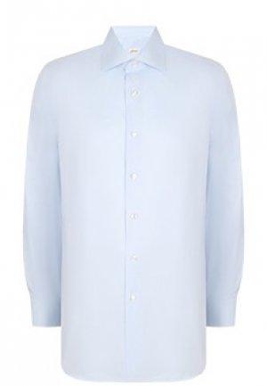Рубашка BRIONI. Цвет: голубой