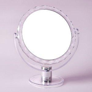 Настольное зеркало с несколькими увеличениями SHEIN. Цвет: прозрачный