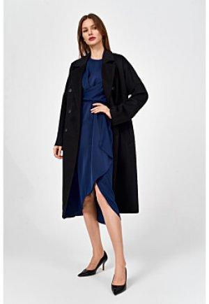 Классическое пальто с поясом Elema