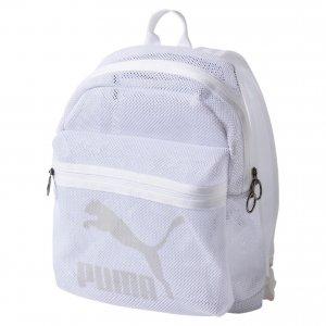 Рюкзак Originals Mesh Backpack PUMA. Цвет: белый