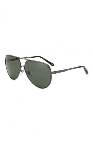 Солнцезащитные очки Chopard. Цвет: темно-серый