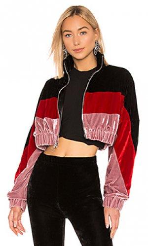 Спортивная кофта velvet Frankie B. Цвет: розовый