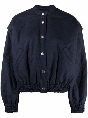 Куртка Jordan YMC. Цвет: синий