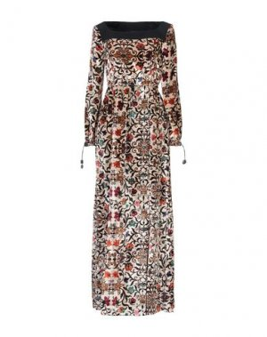 Длинное платье I'M ISOLA MARRAS. Цвет: песочный