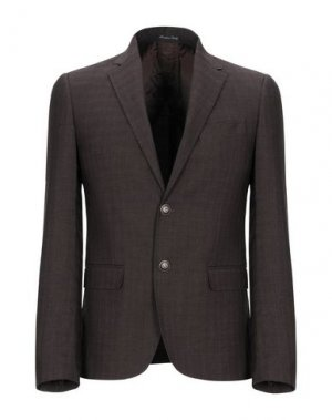 Пиджак EREDI DEL DUCA. Цвет: темно-коричневый