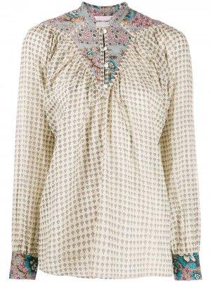 Блузка-туника с принтом Antik Batik. Цвет: нейтральные цвета