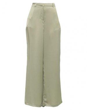 Повседневные брюки GLAMOROUS. Цвет: шалфейно-зелёный