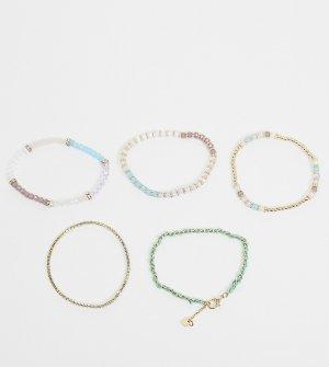 Набор бирюзовых браслетов-фенечек Lakewhite-Мульти ALDO