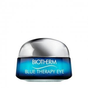 Крем для кожи вокруг глаз Blue rapy Biotherm. Цвет: бесцветный