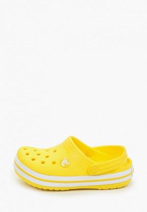 Сабо Crocs Crocband Clog K. Цвет: желтый