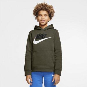 Худи для школьников Sportswear Club Fleece - Зеленый Nike