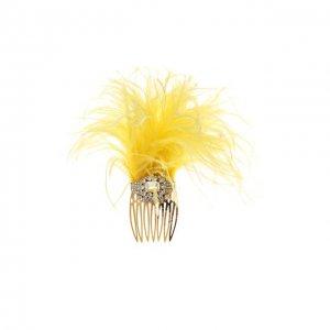 Гребень для волос Dolce & Gabbana. Цвет: жёлтый