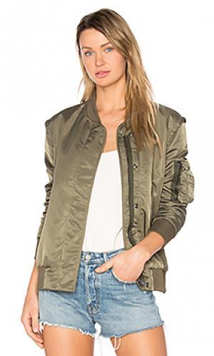 Куртка бомбер sunset Golden Goose. Цвет: военный стиль