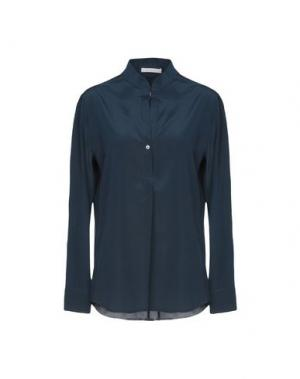 Блузка GIO' MORETTI. Цвет: темно-синий