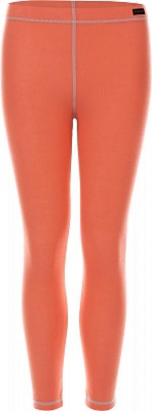 Термобелье низ для девочек , размер 116 Glissade. Цвет: красный