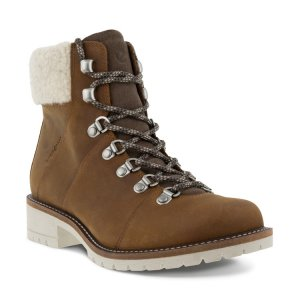 Ботинки ELAINA ECCO. Цвет: коричневый