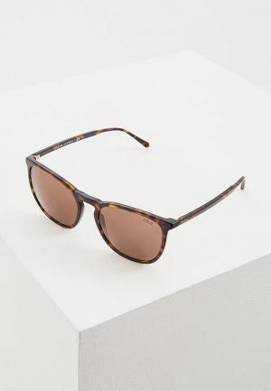 Очки солнцезащитные Polo Ralph Lauren PH4141 500373. Цвет: коричневый