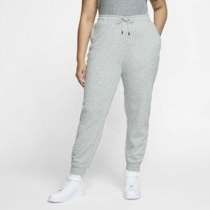 Женские флисовые брюки Sportswear Essential (большие размеры) - Серый Nike