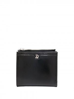 Квадратный кошелек John Zadig&Voltaire. Цвет: черный