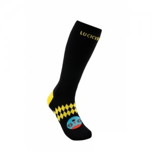 Детские сноубодические носки Lucky BOO LUCKYBOO. Цвет: черный
