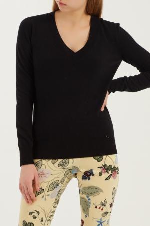 Черный пуловер Gucci