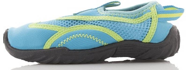 Тапочки коралловые детские , размер 35 Joss. Цвет: синий