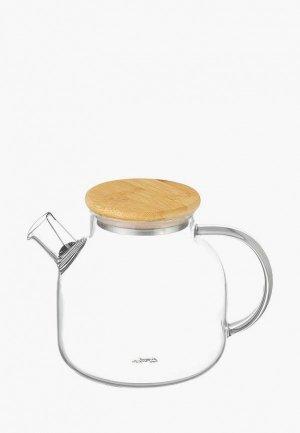 Чайник заварочный Elan Gallery. Цвет: коричневый