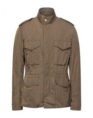 Куртка BARBOUR. Цвет: зеленый-милитари