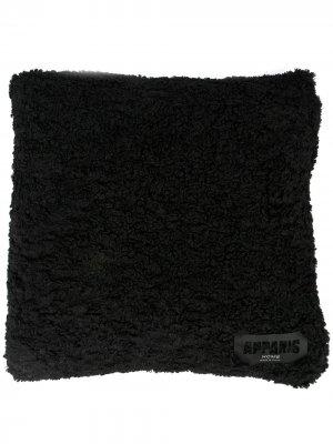 Подушка из искусственной овчины Apparis. Цвет: черный