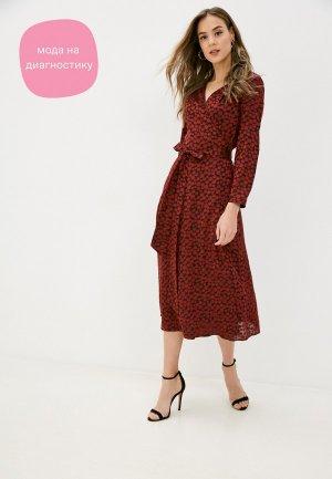 Платье Charuel. Цвет: бордовый