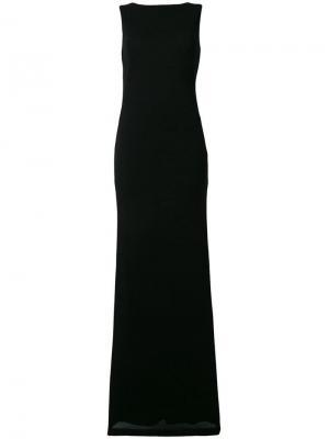 Платье-макси с вырезом на спине Alberta Ferretti