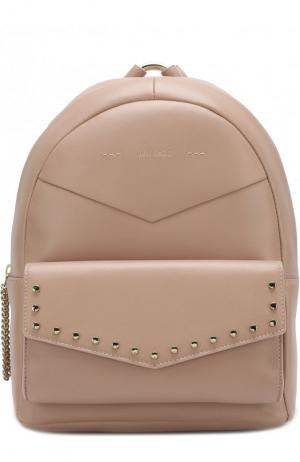Рюкзак Cassie Jimmy Choo. Цвет: розовый
