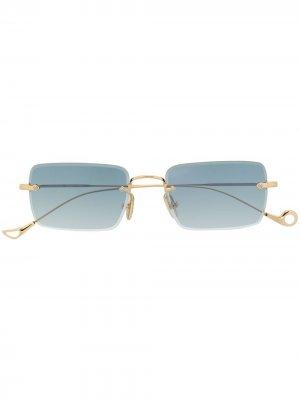 Солнцезащитные очки Dylan в прямоугольной оправе Eyepetizer. Цвет: зеленый