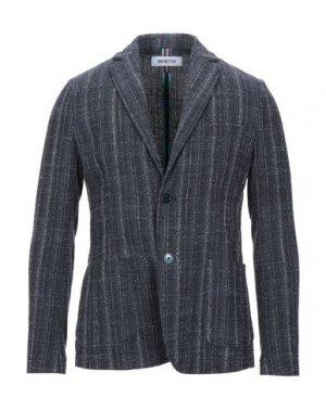 Пиджак DISTRETTO 12. Цвет: темно-синий