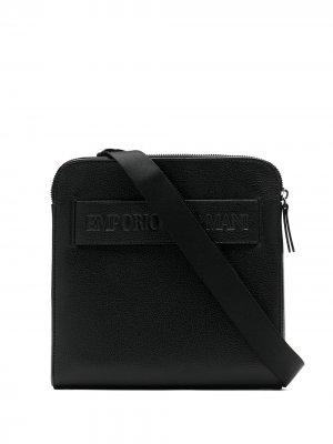 Bolsa tiracolo Emporio Armani. Цвет: черный